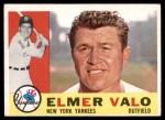1960 Topps #237  Elmer Valo  Front Thumbnail