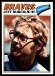 1977 O-Pee-Chee #209  Jeff Burroughs  Front Thumbnail
