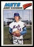 1977 O-Pee-Chee #26  Jerry Koosman  Front Thumbnail