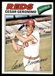 1977 O-Pee-Chee #160  Cesar Geronimo  Front Thumbnail