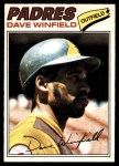 1977 O-Pee-Chee #156  Dave Winfield  Front Thumbnail