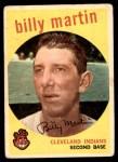1959 Topps #295  Billy Martin  Front Thumbnail