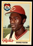 1978 O-Pee-Chee #70  George Foster  Front Thumbnail