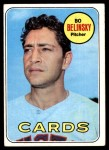 1969 Topps #366  Bo Belinsky  Front Thumbnail