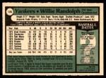1979 O-Pee-Chee #125  Willie Randolph  Back Thumbnail