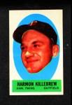 1963 Topps Peel-Offs #22  Harmon Killebrew  Front Thumbnail