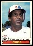 1979 O-Pee-Chee #42 TR Sam Mejias   Front Thumbnail