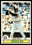 1979 O-Pee-Chee #1  Lee May  Front Thumbnail