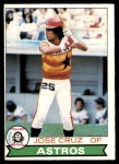 1979 O-Pee-Chee #143  Jose Cruz  Front Thumbnail