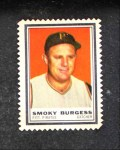 1962 Topps Stamps  Smoky Burgess  Front Thumbnail