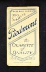 1909 T206  Bill Abstein  Back Thumbnail