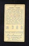 1911 T205  Rebel Oakes  Back Thumbnail
