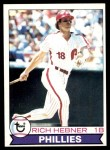 1979 Topps #567  Richie Hebner  Front Thumbnail