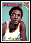 1975 Topps #247  Mike Green  Front Thumbnail