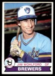 1979 Topps #596  Jim Wohlford  Front Thumbnail