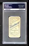 1909 T206  Carlton Molesworth  Back Thumbnail