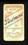 1909 T206 BAT Willie Keeler  Back Thumbnail