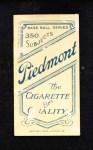1909 T206  Lena Blackburne  Back Thumbnail