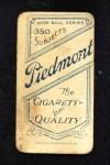 1909 T206 STL Danny Hoffman  Back Thumbnail