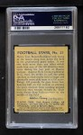 1935 National Chicle #27  Bull Tosi   Back Thumbnail