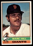 1976 Topps #577  Marc Hill  Front Thumbnail
