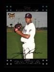 2007 Topps #287  Jose Garcia  Front Thumbnail