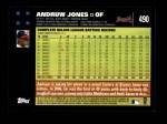 2007 Topps #490  Andruw Jones  Back Thumbnail