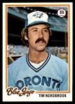 1978 Topps #369  Tim Nordbrook  Front Thumbnail