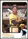 1973 Topps #57  Derrel Thomas  Front Thumbnail