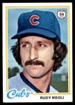 1978 Topps #489  Rudy Meoli  Front Thumbnail