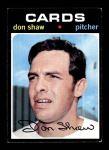 1971 Topps #654  Don Shaw  Front Thumbnail