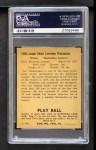 1940 Play Ball #188  Joe Krakaukas  Back Thumbnail