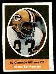 1972 Sunoco Stamps  Clarence Williams  Front Thumbnail