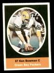 1972 Sunoco Stamps  Ken Bowman  Front Thumbnail