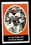 1972 Sunoco Stamps  Jess Phillips  Front Thumbnail