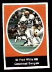 1972 Sunoco Stamps  Fred Willis  Front Thumbnail