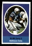 1972 Sunoco Stamps  Bill Curry  Front Thumbnail