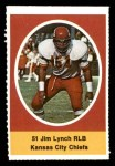 1972 Sunoco Stamps  Jim Lynch  Front Thumbnail
