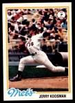 1978 Topps #565  Jerry Koosman  Front Thumbnail
