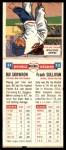 1955 Topps DoubleHeader #21 / 22 -  Bill Skowron / Frank Sullivan  Back Thumbnail