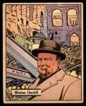 1941 Gum Inc. War Gum #15   Winston Churchill Front Thumbnail