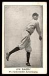 1922 E121-120 American Caramel  Jim Bagby  Front Thumbnail