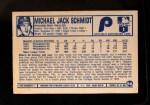 1975 Kellogg's #56  Mike Schmidt  Back Thumbnail