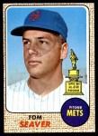 1968 Topps #45  Tom Seaver  Front Thumbnail