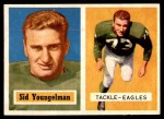 1957 Topps #145  Sid Youngelman  Front Thumbnail