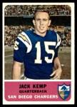 1962 Fleer #79  Jack Kemp  Front Thumbnail