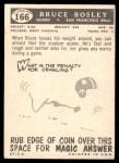 1959 Topps #166  Bruce Bosley  Back Thumbnail