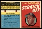 1971 Topps Scratch-Offs  Willie Stargell      Front Thumbnail