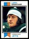 1973 Topps #74  Larry Grantham  Front Thumbnail
