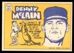 1970 Topps #467   -  Denny McLain All-Star Back Thumbnail